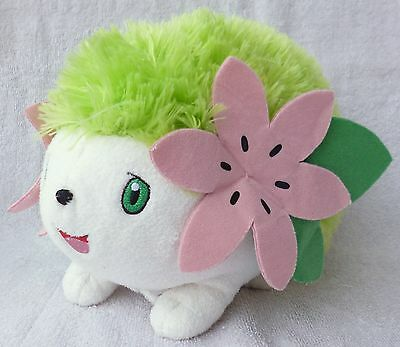 Official Pokemon Tomy Takara Shaymin (No Talking Voice Box) Soft Plush Toy Japan