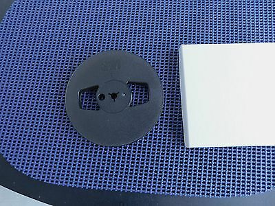 "1 Nos 5"" 3M Smoked Grey Plastic Take Up Reel In Box For Your Tape Recorder"