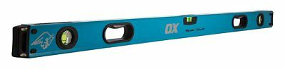OX Tools Pro Spirit Level 1200mm 4Ft 48in 120cm 3 Vial Shockproof Levels P024412