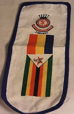 Salvation Army - CLOTH PATCH - ZIMBABWE LONG BANNER