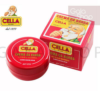 Cella 1899 Shaving Cream Extra Pure Soothing Bowl 150 Ml Barber