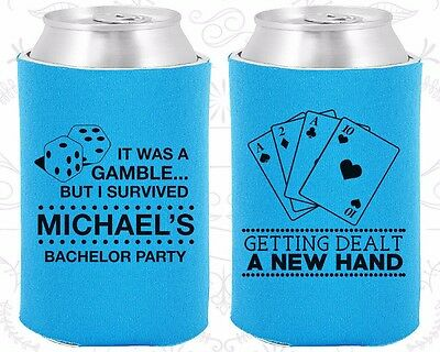 The Last Stand 40035 Bachelor Party Koozies Koozie Favors Supplies