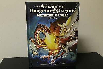 AD&D Monster Manual (TSR, 1979) 1st Edition 7th Print / Dungeons and Dragons