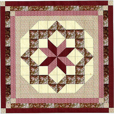 CONSTELLATION STAR QUILT TOP - Not Quilted, Machine Pieced, Made in the USA!