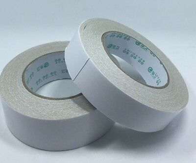 Two Roll Double Sided Carpet Tape Rug Mat Pad Gripper Adhesives Tapes