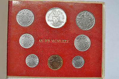 1975 Vatican City Paul VI (Holy Year) Coin Set - Unc