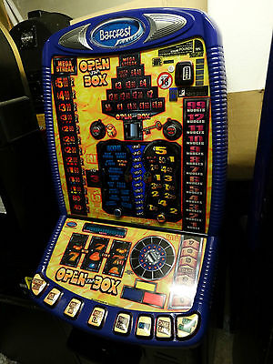 Open The Box Fruit Machine, £5 Jackpot, Accepts New £1 Coin