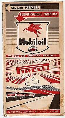 Vintage Italian Motoring Advertising -suitable for framing - double sided