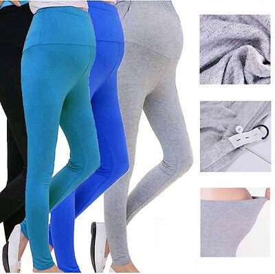 Maternity Pregnant Pants Stretchy Wear Trousers Women Leggings Belly  Pregnancy