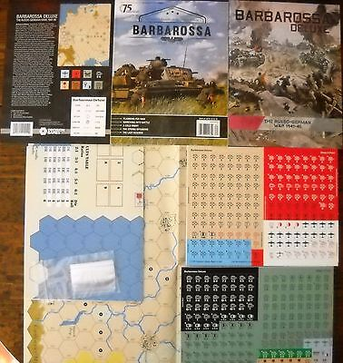 WARGAME: BARBAROSSA DELUXE by Decision Game no AH COMPASS MMP GAMERS SPI GMT