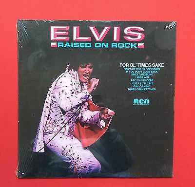 Elvis Presley-Hard To Find Still Sealed Raised On Rock