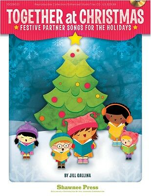 Hal Leonard Together At Christmas Partner Songs For The Holidays Book /CD