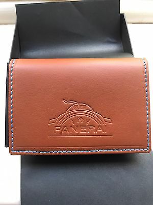Panerai Limited Edition Leather Wallet Bnib