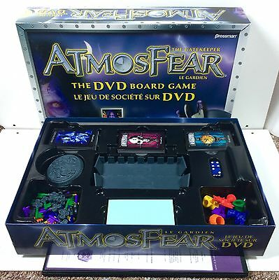 Vintage Atmosfear The Gatekeeper DVD Board Game Near Complete Horror