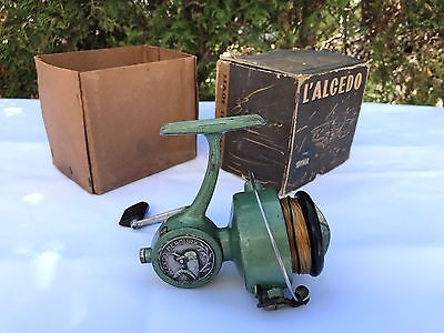 Alcedo Mercury in BOX  made ITALY REEL MOULINET MULINELLO VINTAGE OLD RARE Alte