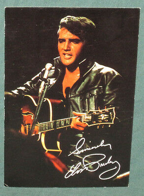 Elvis Presley International Hotel NBC Singer Postcard August 17 1969