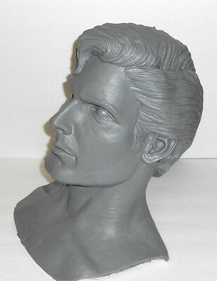 Christopher Reeve Life Size Superman Bust 1:1 Resin Movie Prop Clark Kent