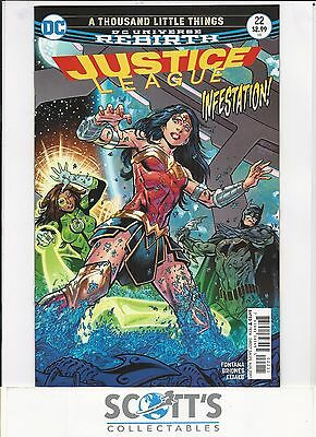Justice League  #22  New  (Bagged & Boarded) Freepost