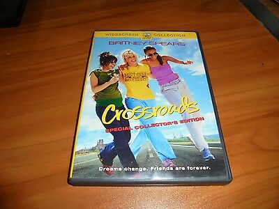 Crossroads (DVD, 2002, Collectors Edition Widescreen) Britney Spears Used OOP