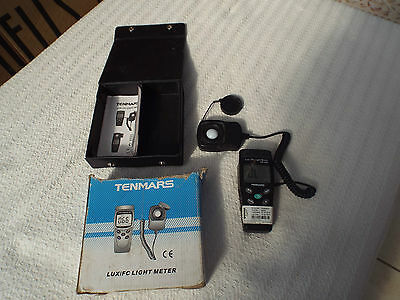 Tenmars Tm-202 Lux/fc Light Meter Luminometer