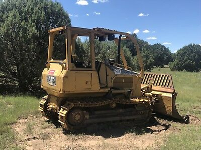 2005 Caterpillar Cat D4G Xl Dozer Full Screen Brush Rake Orop Forestry Logging