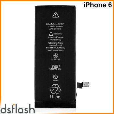 Bateria iPhone 6 Repuesto 3.82V 1810mAh (Capacidad Original) APN 616-0804