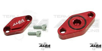 TRX 300EX 300X 250EX 250X  Parking Brake Blockoff Plate  Block off Plate Red