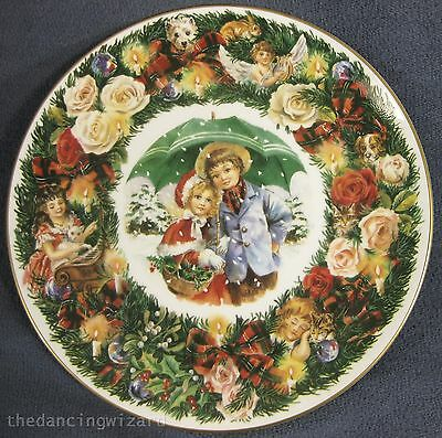 Royal Doulton Best Wishes 1993 Collector Plate Neil Faulkner Christmas