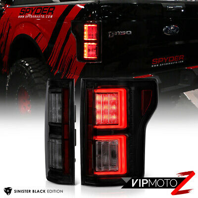 "2015-2017 Ford F-150 ""NEWEST DESIGN"" C-Shape OLED Parking Signal Tail Lights SET"