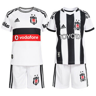 Besiktas Istanbul adidas Kinder Baby Trikot Kleinkinder Mini Kit Set Short Kids