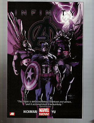 AVENGERS VOL 4 INFINITY Softcover -- Marvel, 2014 -- NEW!
