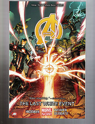 AVENGERS VOL 2 THE LAST WHITE EVENT Softcover -- Marvel, 2014 -- NEW!