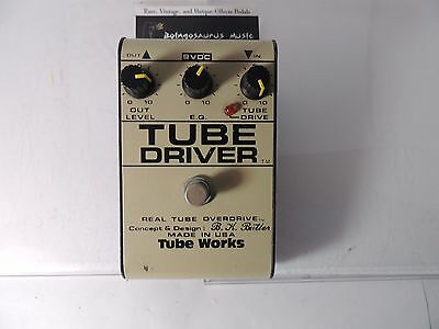 Bk Butler Tube Works Tube Driver Overdrive 12Ax7 Od Effects Pedal Free Usa Ship