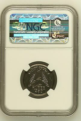 India 1954 Proof 1/2 Rupee Ngc Graded Of 64