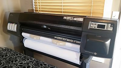 "HP DesignJet 1050c 36"" Large Format Printer Plotter **LOW PAGE COUNT**"