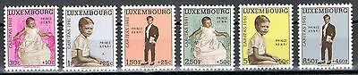 Luxembourg B222-B227, Mint Never Hinged PRINCE HENRI 1961
