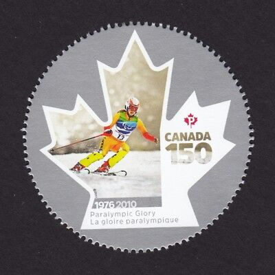 CANADA 150 Celebration PARALYMPIC, OLYMPIC Stamp from Minisheet, MNH Canada 2017