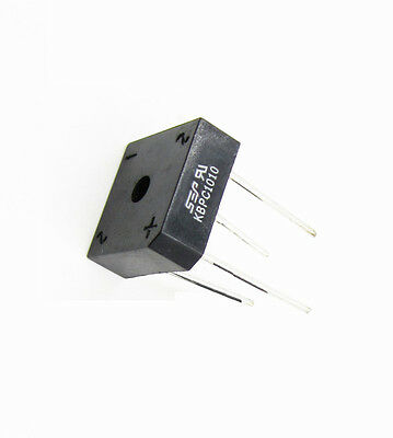 5PCS Bridge Rectifier KBPC1010 KBPC-1010 10A 1000V NEW