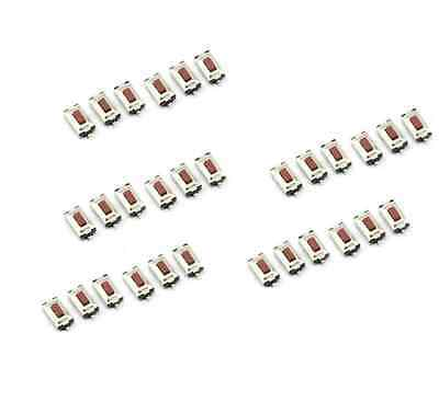 100PCS 3X6X2.5mm taktile Taster Schalter Tact Switch Mikroschalter 2Pin SMD