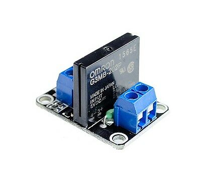 1pcs 5v 1 Channel OMRON SSR G3MB-202P Solid State Relay Module For Arduino