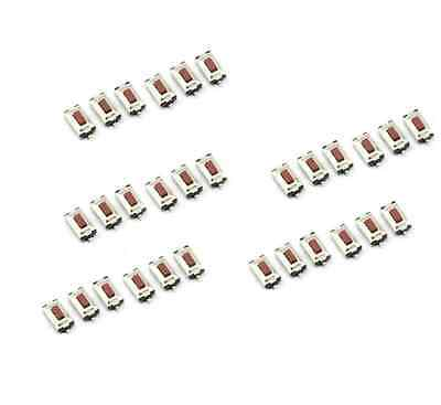 100PCS  3X6X2.5mm Tactile Push Button Switch Tact Switch Micro Switch 2Pin SMD