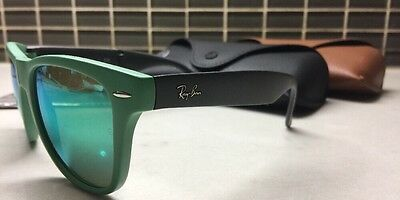 RAY-BAN FOLDING WAYFARER UNISEX AUTHENTIC SUNS(RB4105 6021/19) 54/20/140mm