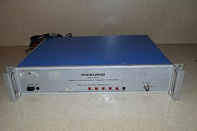Rockland Model 5110 Programmable Frequency Synthesizer (Ii)