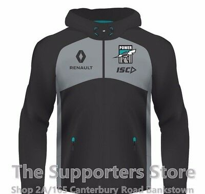 Port Adelaide Power AFL 2017 Players ISC Workout Hoody Sizes S-5XL! IN STOCK