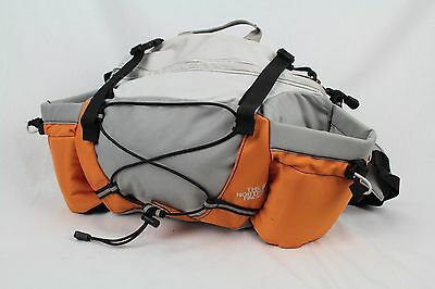 The North Face Lumbar Waist Fanny Pack Hiking Travel Camping Black Clean
