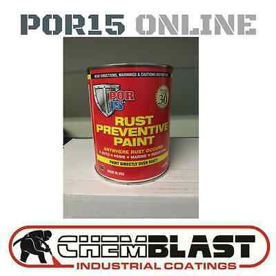 Por 15 Rust Prevention Paint 1LITRE GREY