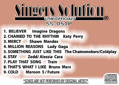 SINGERS Solution COUNTRY #452 Karaoke 9-Song-SPEAK TO A GIRL