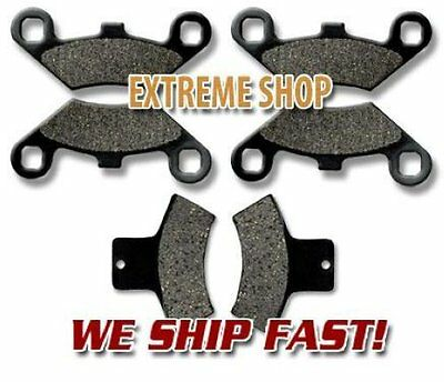 Polaris Front Rear Brake Pads Scrambler 400 (1998-02) 500 (98-04) 2x4 4x4
