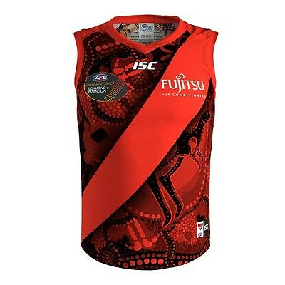 Essendon Bombers AFL 2017 ISC Indigenous Guernsey Adults & Kids Sizes!