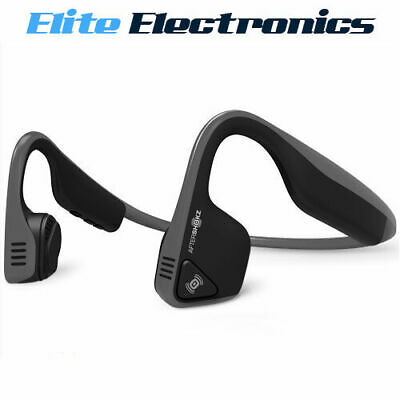 Aftershokz Trekz Titanium Wireless Bone Conducting Ear Headphone Slate Grey Mini